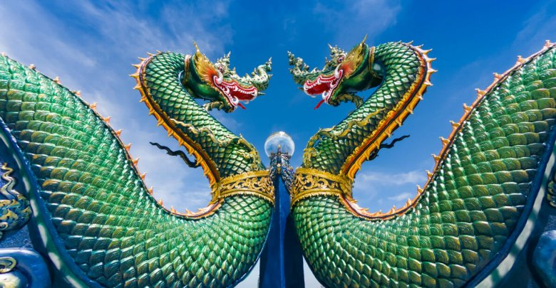 Feng Shui Green Dragon
