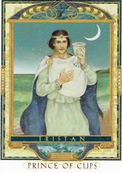 Prince of Cups tarot card