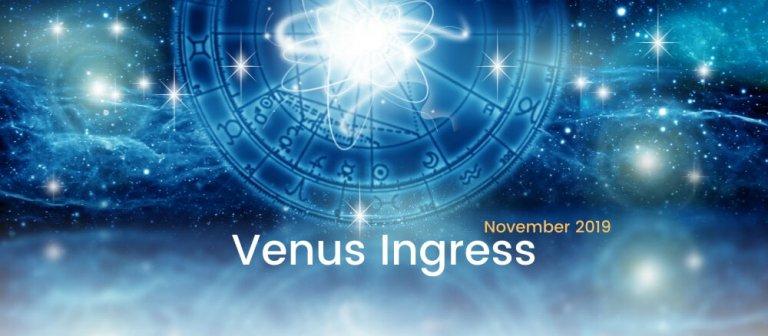 Venus Ingress November 2019