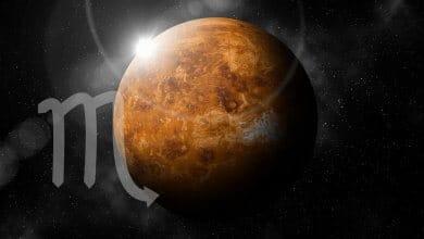 Photo of Venus in Scorpio