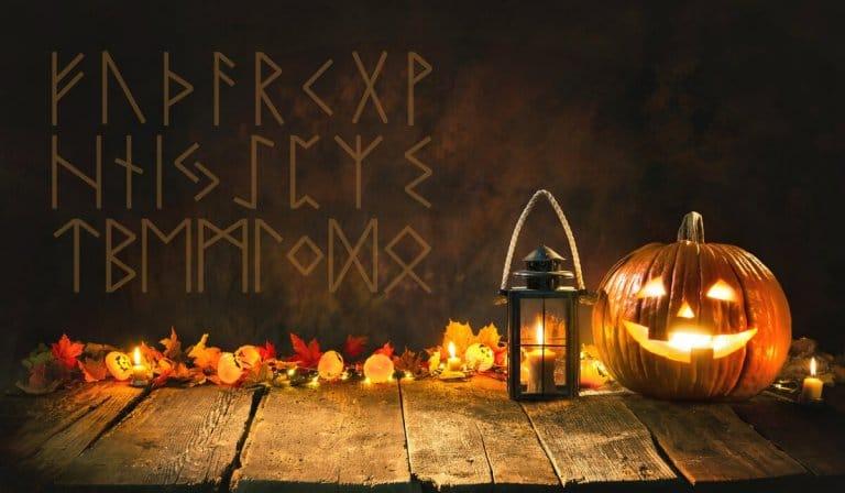 Halloween Rune Reading