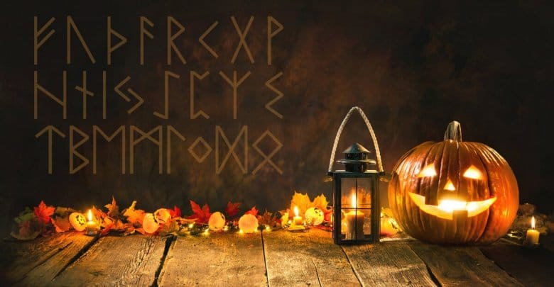 Halloween Rune Reading