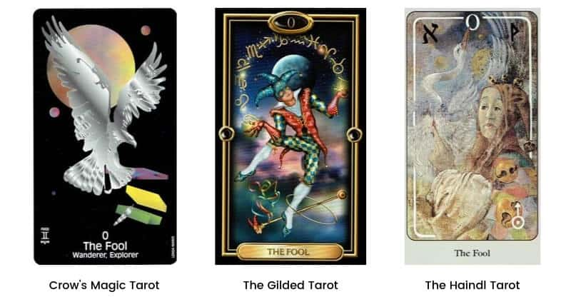 Fool Tarot Card Modern Images 1