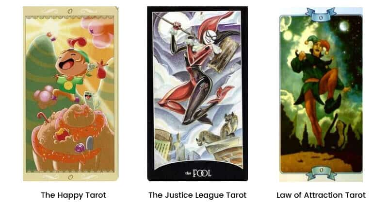 Fool Tarot Card Modern Images 2