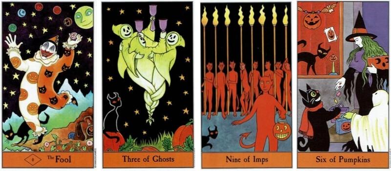 Halloween Tarot Art
