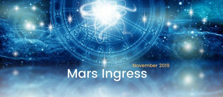 Mars Ingress November 2019