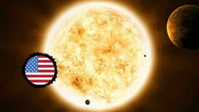 Photo of A Close Look at the Sun in the United States Birth Chart