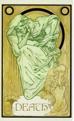 Death Ethereal Visions Illuminated Tarot