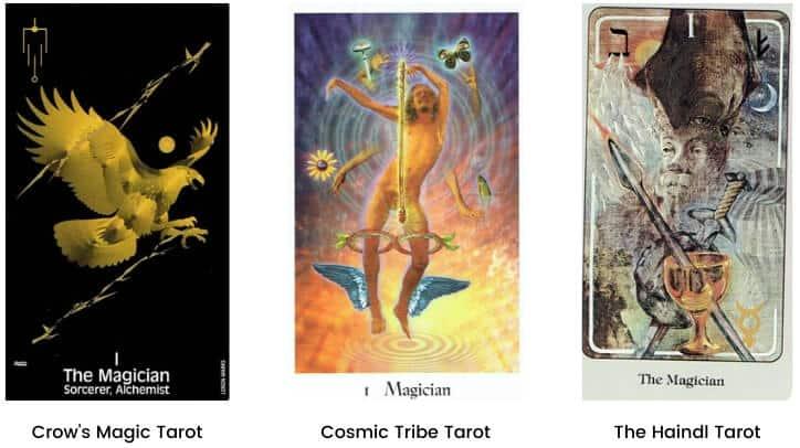 Magician tarot card modern images 1