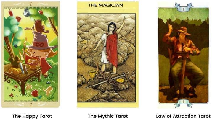 Magician tarot card modern images 2