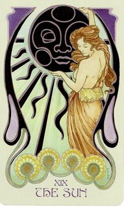 The Sun Ethereal Visions Illuminated Tarot