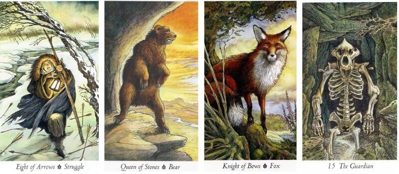 Wildwood Tarot cards
