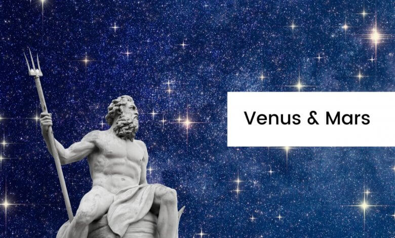 Astrology vs Greek Mythology Venus and Mars