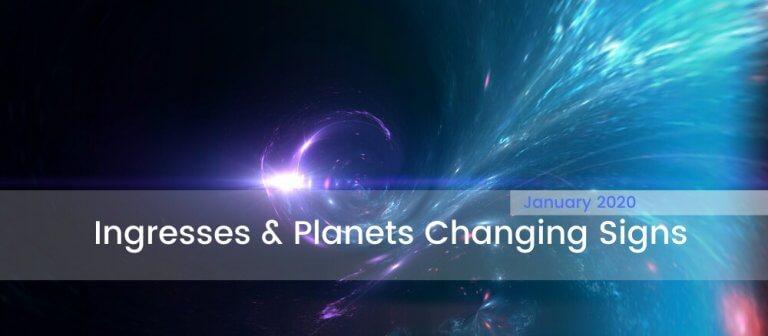 January 2020 Astrology Forecast Ingresses
