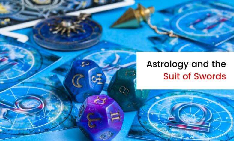 The Astrological Associations with the Swords Suit