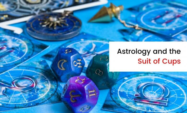 The Astrological Associations with the Cups Suit