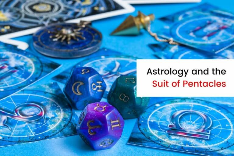 The Astrological Associations with the Pentacles Suit
