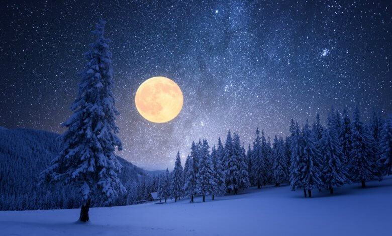 Full Snow Moon 2020
