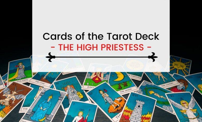 The High Priestess in Tarot