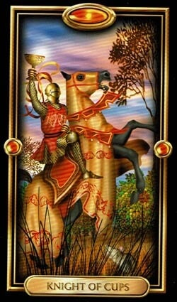 Knight of Cups card