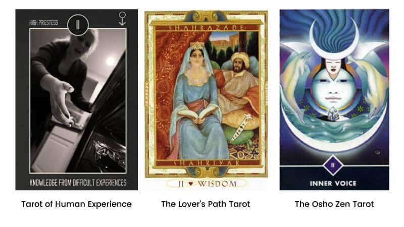 High Priestess Tarot Card Same Meaning but Renamed