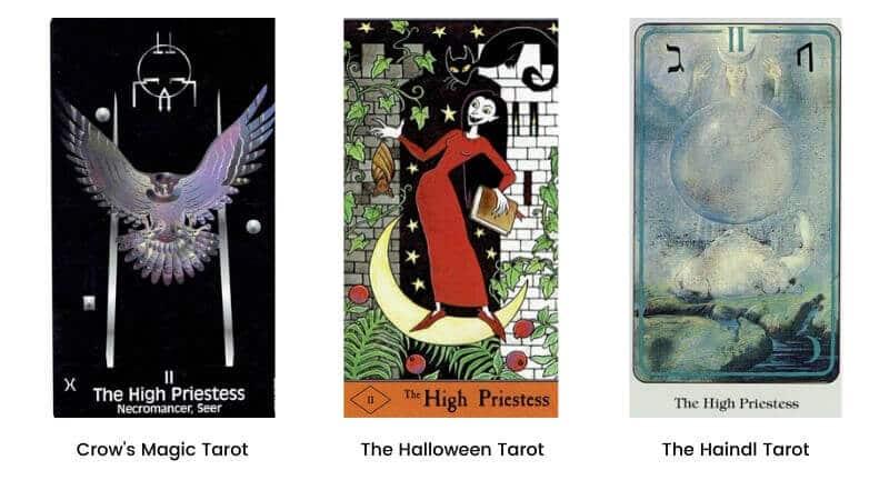 High Priestess tarot card modern images 1