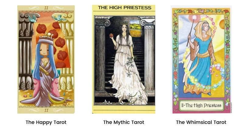 High Priestess tarot card modern images 2