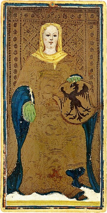 The Empress Bembo-Visconti Tarot