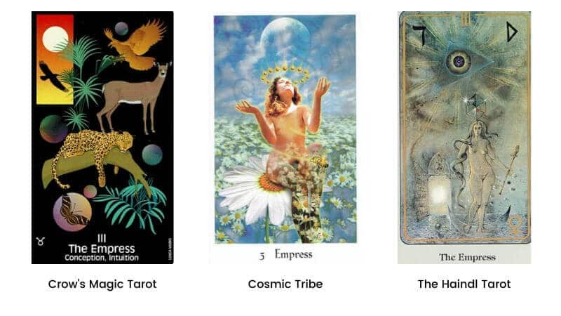 The Empress tarot card modern images 1