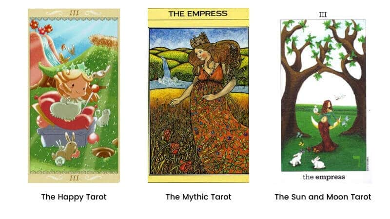 The Empress tarot card modern images 2