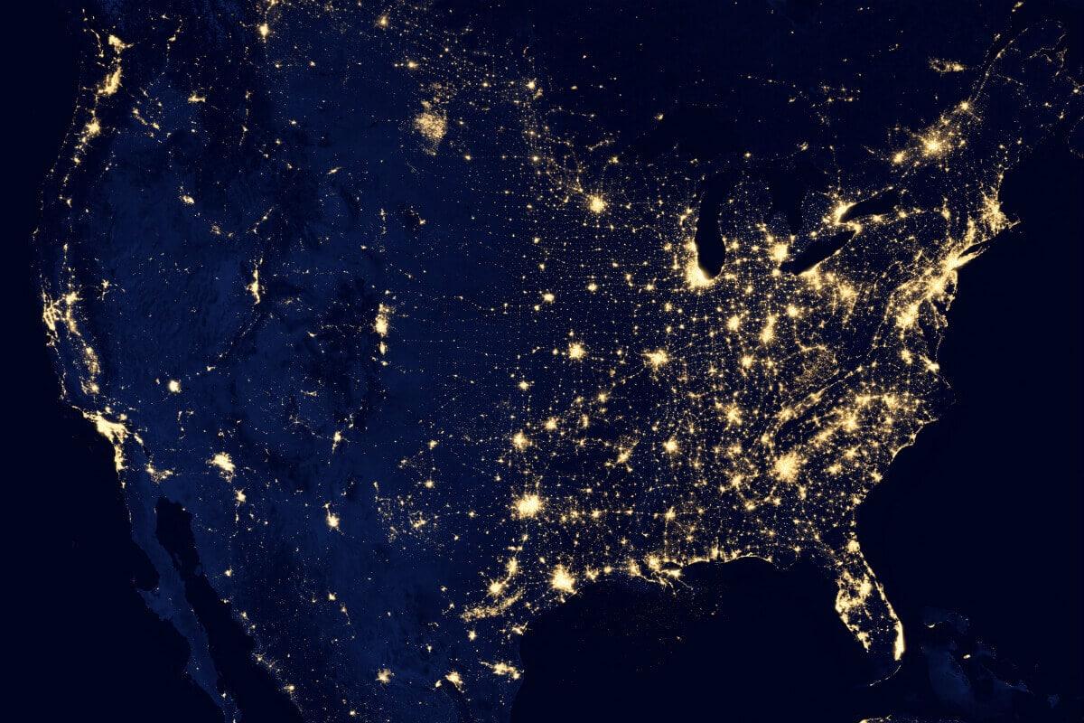 nasa us map