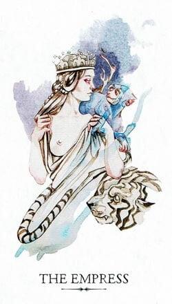 The Empress tarot card LST