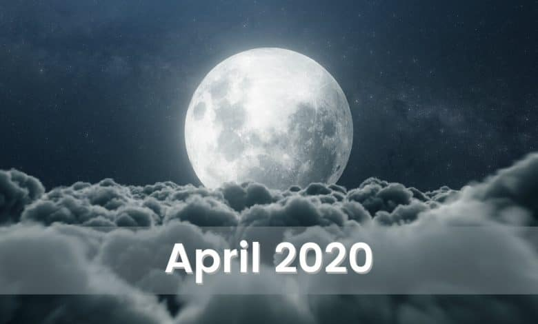 Photo of The Moonscope for April 2020: The Moon This Month