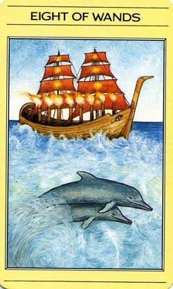 8 of Wands tarot card