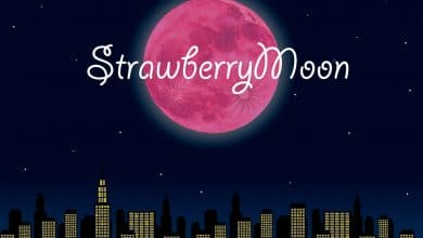 Photo of The Full Strawberry Moon 2020