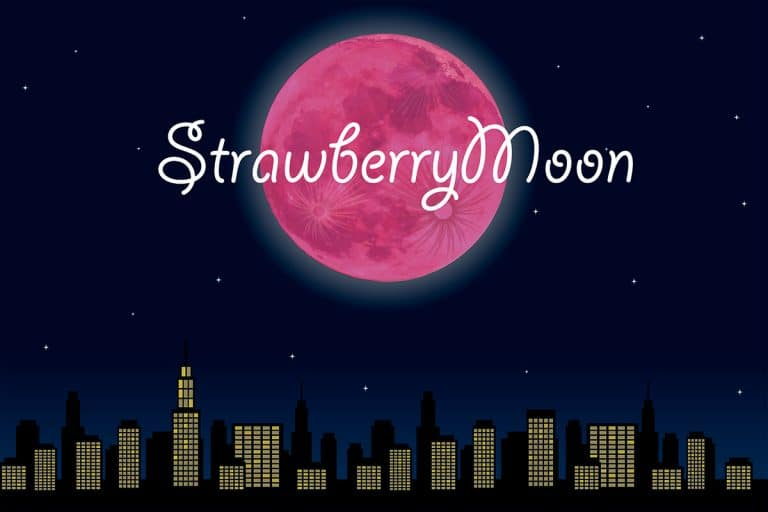 Full Strawberry Moon 2020