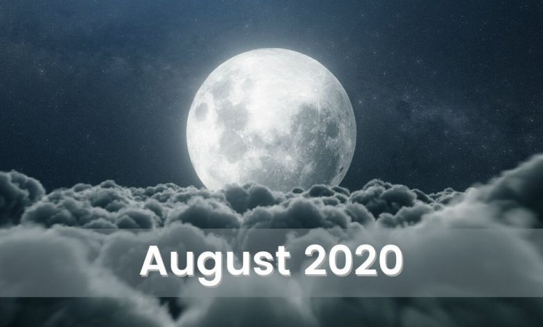 Photo of The Moonscope for August 2020