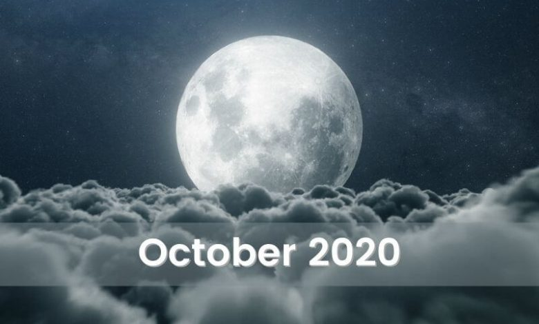 Photo of The Moon Horoscope for October 2020