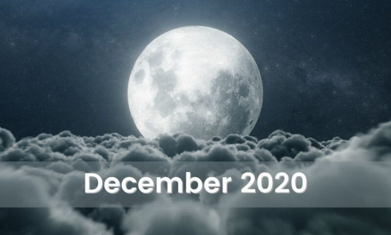 The Moonscope for December 2020
