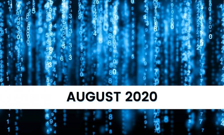 Key Numerology Numbers for August 2020