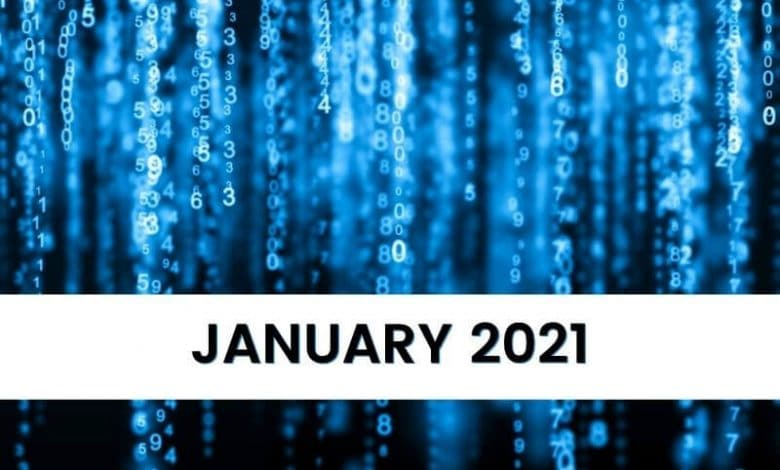 Key Numeology Numbers for January 2021