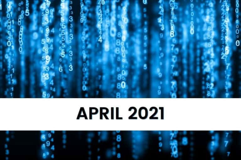 Key Numeology Numbers for April 2021