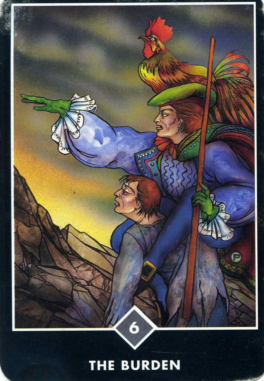 The Burden tarot card
