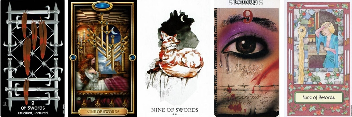 9 of Swords visuals