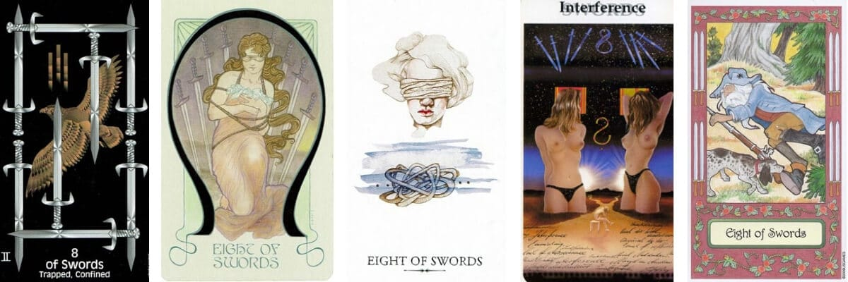 8 of Swords visuals