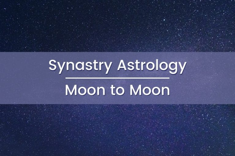 Synastry Astrology Moon to Moon