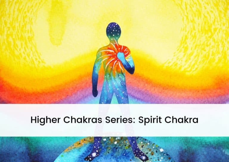 Higher Chakras Series Spirit Chakra