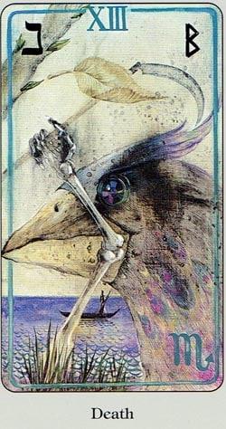 Death Haindl tarot
