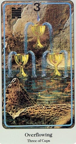 3 of Cups Haindl