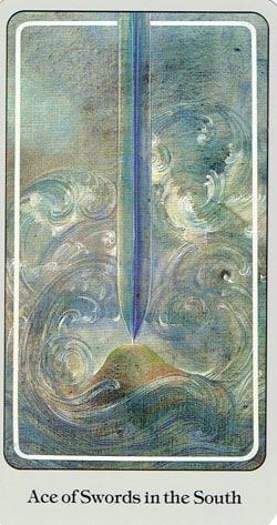 Ace of Swords Haindl tarot